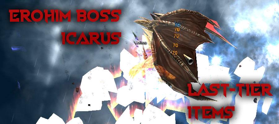 Custom Erohim boss in Icarus